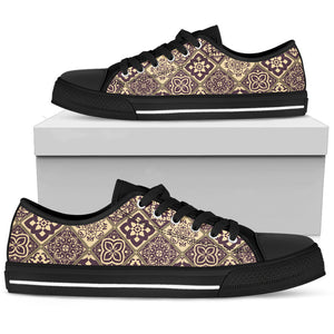 Portugal Low Top Shoe - Azulejos Pattern 20 Z3