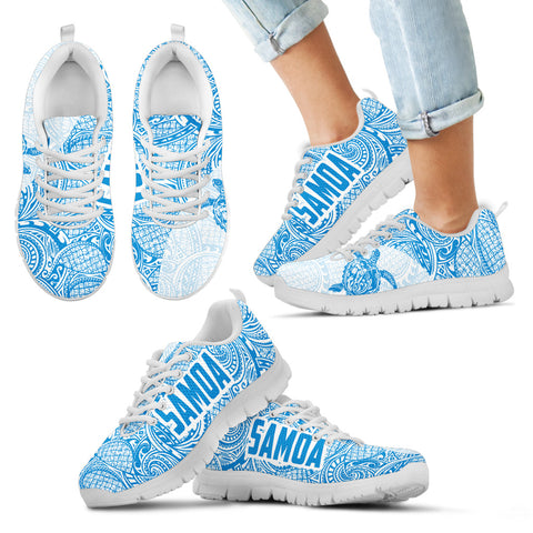Image of Samoa Shoes - Samoa Sneakers Polynesia Pattern 08 TH90