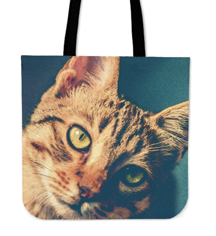 Tote Handbag Ginger Cat
