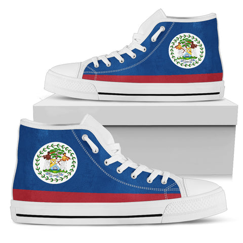 Belize High Top Canvas Shoes - Belize Men'S/Women'S Shoes H4 |Footwear| Love The World