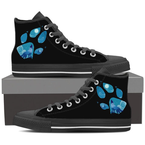 WOLF PAWS 8 HIGH TOP