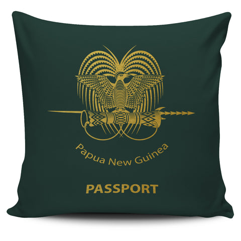 Papua New Guinea Pillow Cover - Passport Version - Bn04