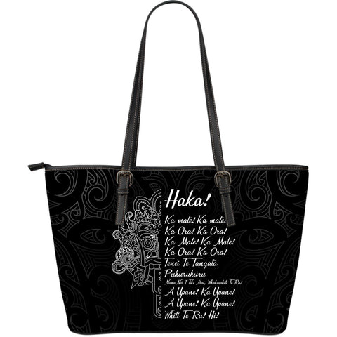 New Zealand Large Leather Tote Ka Mate Haka Lyrics A7