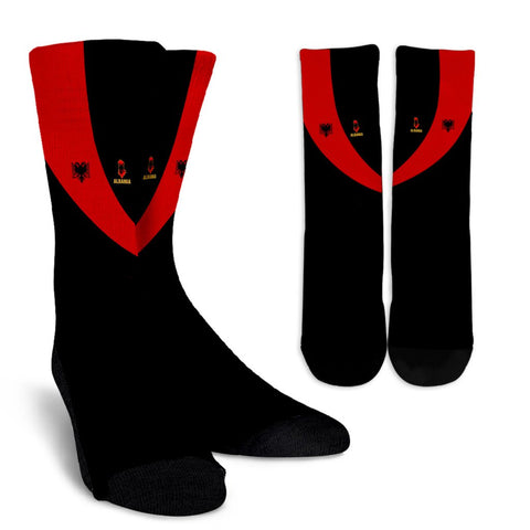 Albania Crew Sock Special Flag A21