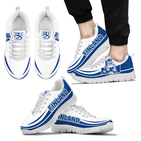 Finland Lion Sneakers Bn10