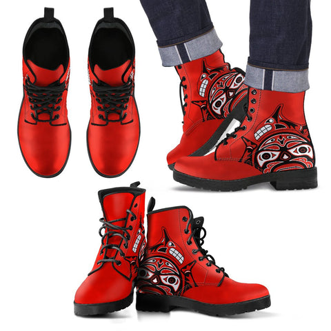Image of Canada Haida Leather Boots Bn10