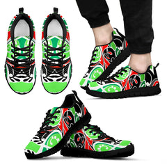 Ataahua tieke new zealand sneakers - green version K5