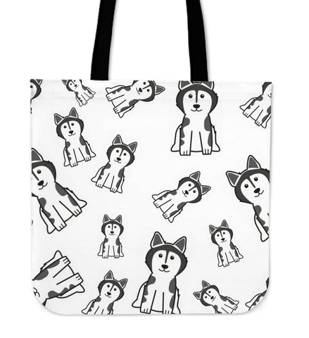 Cartoon Dog Tote Bag