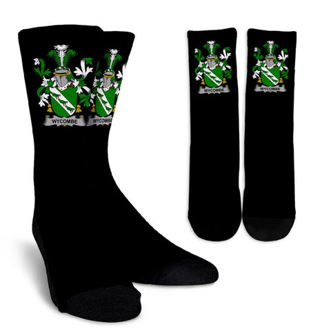 Wycombe Ireland Crew Socks - Irish Family Crest  | Over 1400 Crests | High Quality | 1sttheworld
