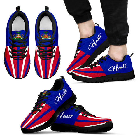 Haiti Coat Of Arms™ Sneakers K5 | 1sttheworld.com