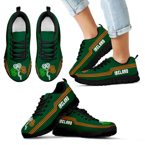 Ireland Sneakers Celtic Shamrock - Line Style