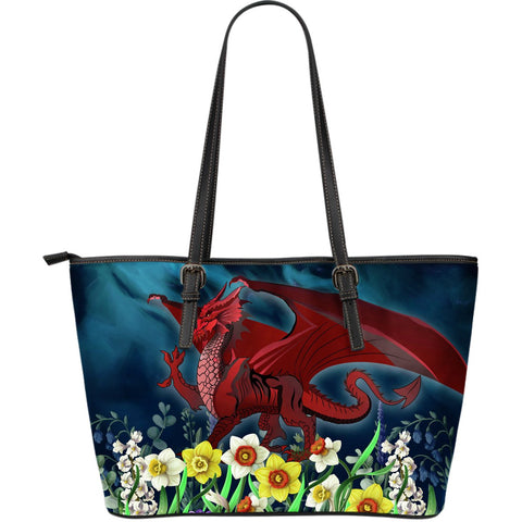 Welsh  Large Leather Tot - Dragon Daffodil | Home Set | Love The World