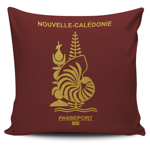 New Caledonia Pillow Cover - Passport Version - Bn04