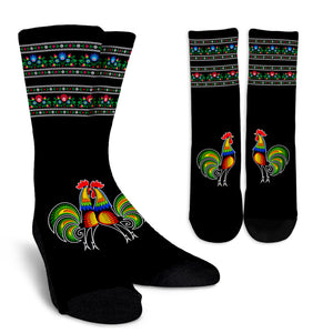 Polish Rooster Crew Sock J8