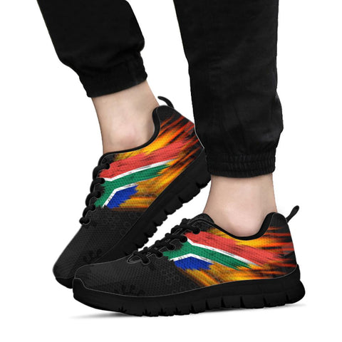South Africa Sneakers - Fire Wings and Ankara | LOVE THE WORLD