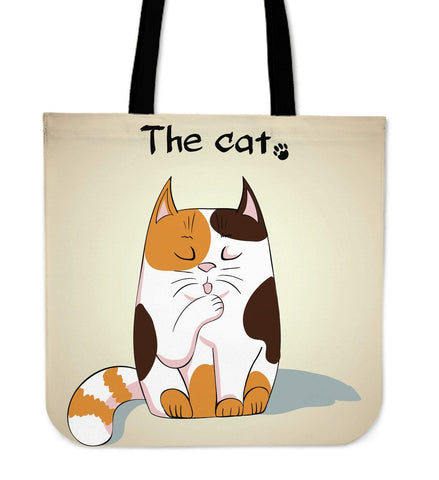 The Cat Cloth Tote Handbag