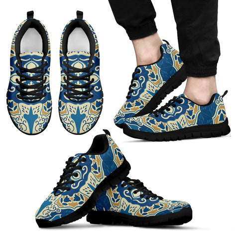 Portugal Sneakers - Azulejos Pattern 12 Z3