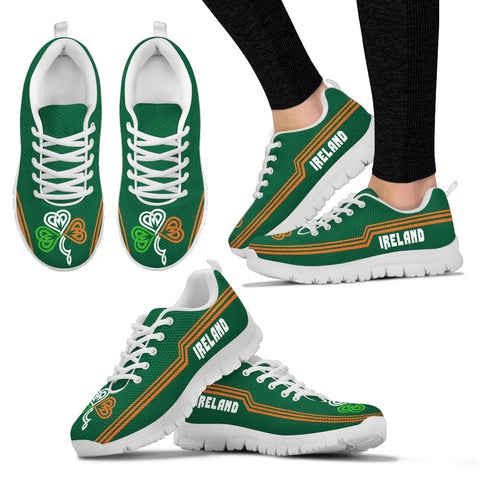 Ireland Sneakers Celtic Shamrock - Line Style Th5