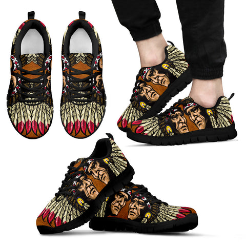 NATIVE AMERICAN INDIAN CHIEFS SNEAKERS - BN02