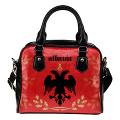Albania Bags - Albania flag of shoulder handbags NN6