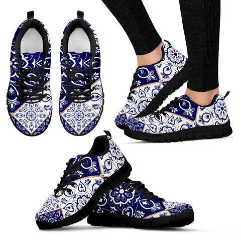 Portugal Sneakers - Azulejos Pattern 04 Z3
