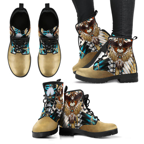 Native American Leather Boots Mandala 2Nd K6 |Footwear| Love The World