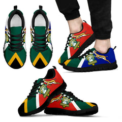 South Africa Springbok Catch Rugby World Cup Men's/Women's Sneakers NN8