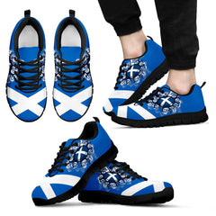 support your team to the champion: scotland rugby national team men's/women's sneakers (shoes)
