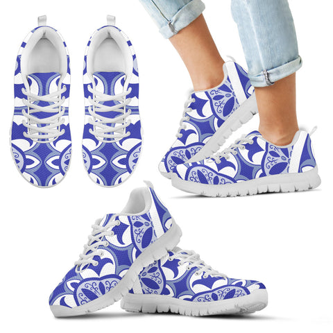 Portugal Sneakers - Azulejos Pattern 11 Z3
