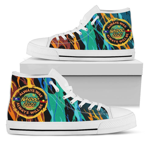 Australia High Top Shoe 2 - Naidoc Always Was, Always Will Be - BN17