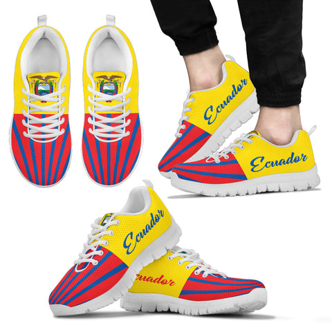 Image of Ecuador Coat Of Arms Sneakers K5