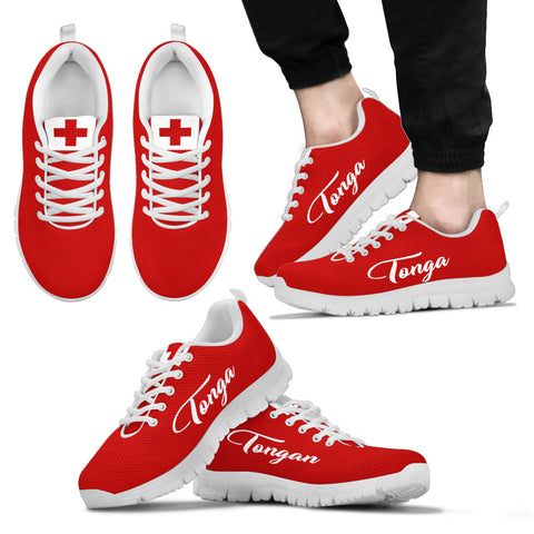 Image of Tonga Flag - Tonga Shoes K5
