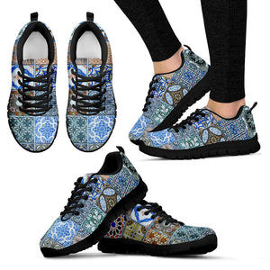 Portugal Sneakers - Azulejos Pattern 09 Z3