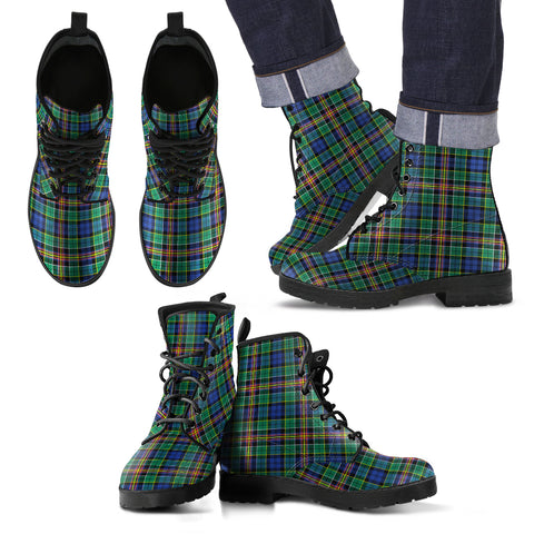 Anderson Ancient Tartan Leather Boots Hj4 |Footwear| Love The World