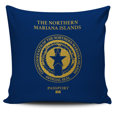 The Northern Mariana Islands Pillow Cover - Passport Version - Bn04