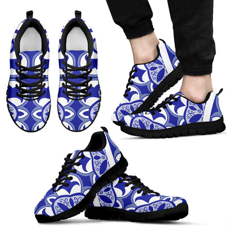 Image of Portugal Sneakers - Azulejos Pattern 11 Z3