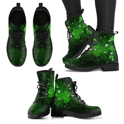 Image of Ireland boots- Shamrock men's/women's leather boots NN8
