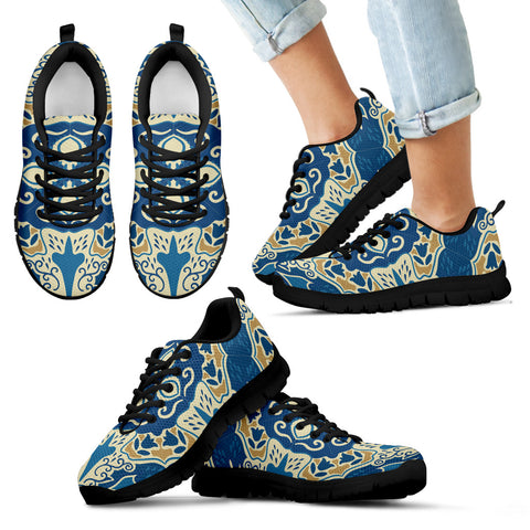 Image of Portugal Sneakers - Azulejos Pattern 12 Z3
