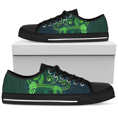 Special Edition of New Zealand Fern - Fern Low Top Canvas Shoe for Men and Women