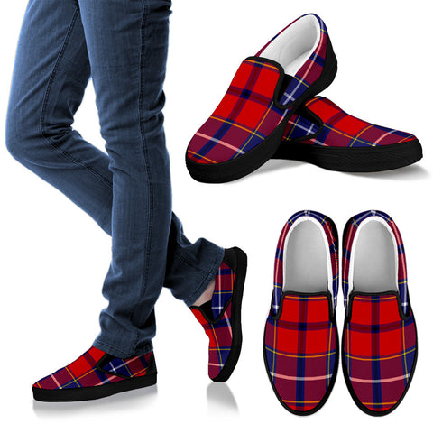 Tartan Slip Ons - Wishart Dress  - Bn