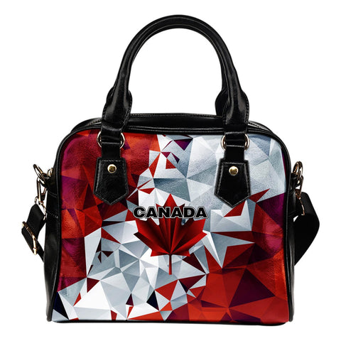 Canada Shoulder Handbag - Polygon Version - BN04