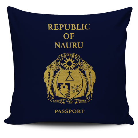 Nauru Pillow Cover - Passport Version - Bn04