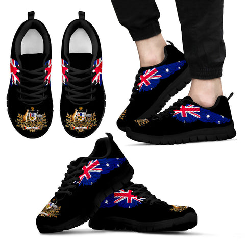 Australia Coat  Of Arms and Wings Sneakers A9