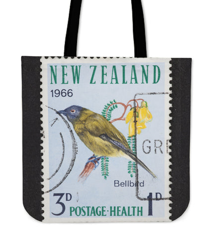 Image of New zealand stamp tote bag 8 K5