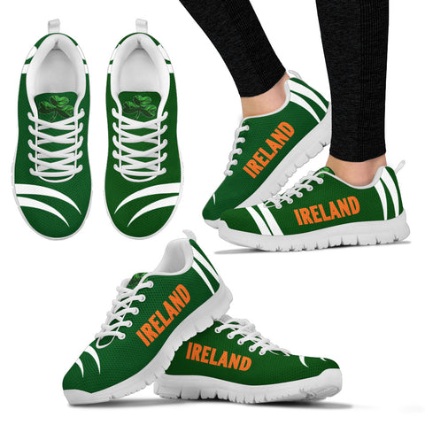 Ireland Sneakers Shamrock - Monster Claws Style