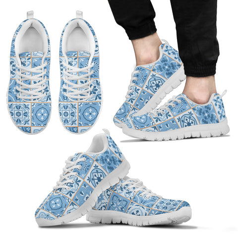 Portugal Sneakers - Azulejos Pattern 08 Z3