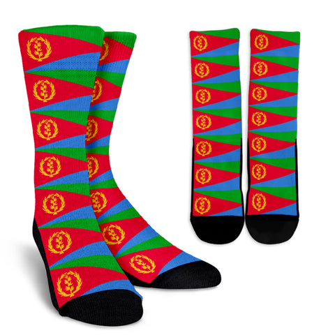 Eritrea Flag Crew Socks A7