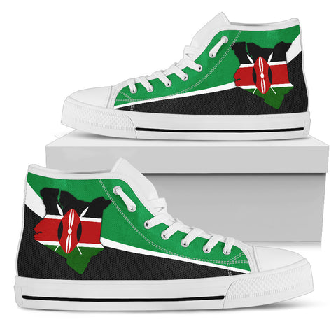 Kenya Map Special High Top Shoe | High Quality | Hot Sale