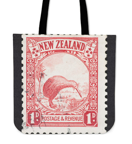 Image of New zealand stamp tote bag 6 K5
