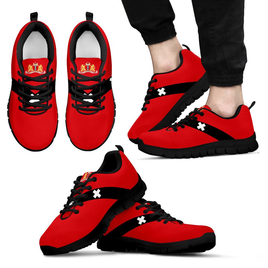 Netherlands Amsterdam Flag Sneakers A6